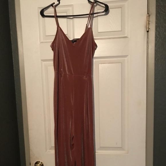 Forever 21 Dresses & Skirts - Velvet Jumpsuit